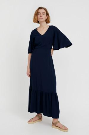 платье макси из вискозы Finn-Flare